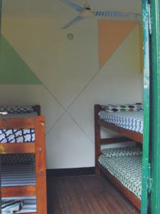 A bunk bed or bunk beds in a room at Freedom Hostel