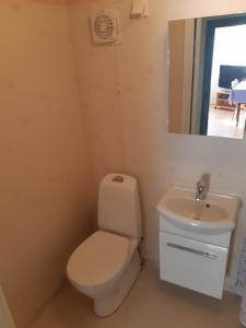 Ein Badezimmer in der Unterkunft Westerås Gard