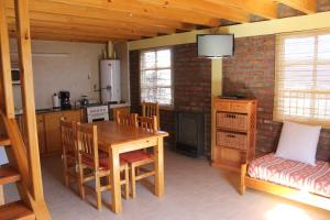 Dining area at the lodge