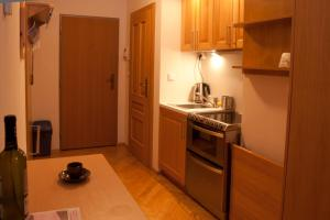 A kitchen or kitchenette at Apartmán Petra Clinic Javor
