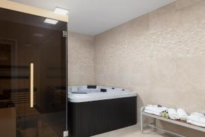 Spa and/or other wellness facilities at Luxury apartments Vila Carissa