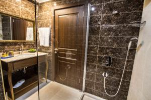 A bathroom at Sea Star Marmaris - Adult Only