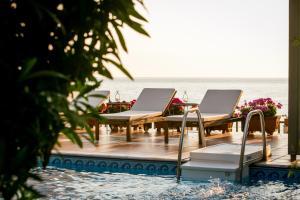 The swimming pool at or near Kenta Beach Hotel