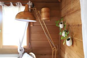 Salle de bains dans l'établissement Orion Treehouses