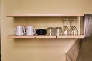 Cucina o angolo cottura di Casa Rubinacci