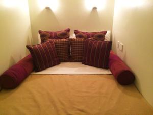 A bed or beds in a room at Twenty Nevern Square Hotel