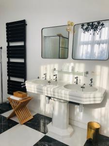 Een badkamer bij OH2