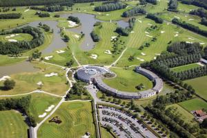 A bird's-eye view of Golfhotel Amsterdam - Purmerend