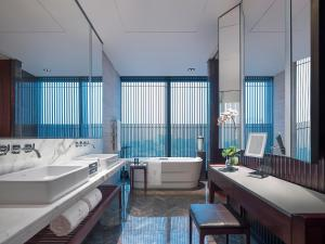 A bathroom at NUO Hotel Beijing