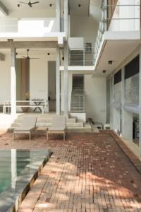 The swimming pool at or near Villa Amma Erna - Galle