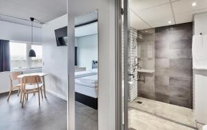 Et badeværelse på Zleep Hotel Aarhus Viby