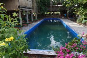 Het zwembad bij of vlak bij Nguyen Shack - Mekong Can Tho