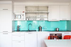 Küche/Küchenzeile in der Unterkunft Wenceslas Square Terraces