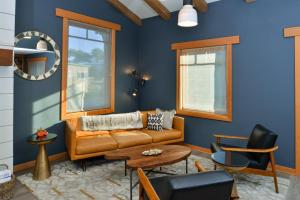 A seating area at The Coho Oceanfront Lodge