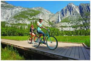 Biking at or in the surroundings of Yosemite Valley Lodge