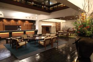 A restaurant or other place to eat at Kurashiki Kokusai Hotel