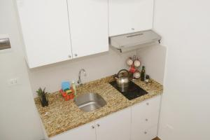 A kitchen or kitchenette at Barranco Wasi