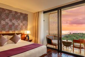 Giường trong phòng chung tại Salinda Resort Phu Quoc Island