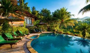 The swimming pool at or near Cepik Villa Sidemen