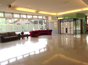 The lobby or reception area at Tie Dao Hotel