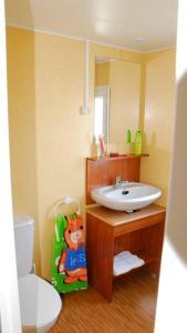 Een badkamer bij Bungalows Pirineus