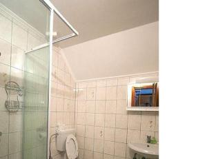 A bathroom at Apartment Polina