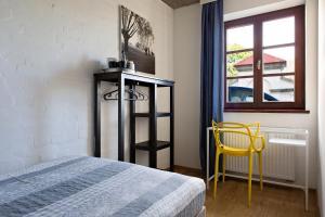 Katil atau katil-katil dalam bilik di Hostel Starówka