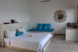 Un ou plusieurs lits dans un hébergement de l'établissement Aquaterrace Amed