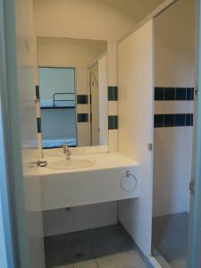 A bathroom at SmartStay Melbourne