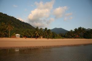 Ein Strand an oder in der Nähe des Chalets