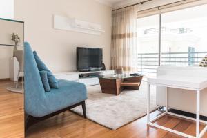 A seating area at Apartamento Costa Sol