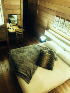 Letto o letti in una camera di Cà Virò