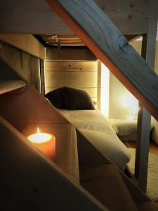 Letto o letti a castello in una camera di Cà Virò