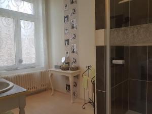 A bathroom at Quartier 29