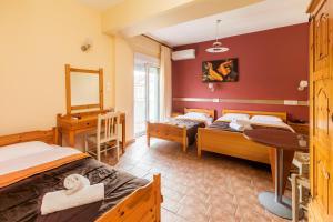 Кровать или кровати в номере Hotel Almira