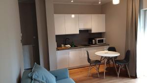 Kuchnia lub aneks kuchenny w obiekcie Apartament Top Park View Polanica Zdrój