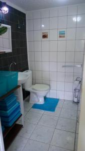 Um banheiro em Dushi Violet Seru Coral Resort