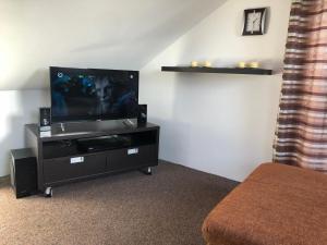 TV a/nebo společenská místnost v ubytování NRC Apartments