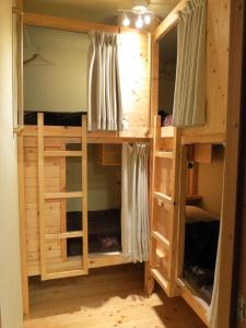 A bunk bed or bunk beds in a room at No Borders Hostel