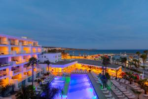 A view of the pool at Limanaki Beach Hotel & Suites or nearby