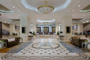The lobby or reception area at JW Marriott Bucharest Grand Hotel