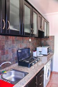 A kitchen or kitchenette at Bella Appart