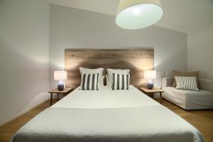 Cama o camas de una habitación en La Casa Gris