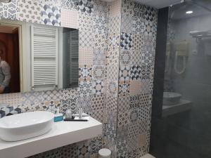 A bathroom at A Boira