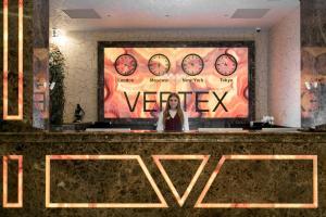Лобби или стойка регистрации в VERTEX SPA hotel
