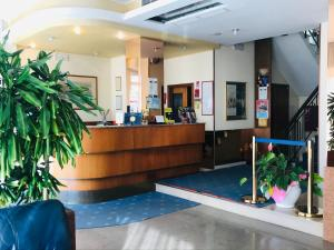Hall o reception di Hotel San Carlo