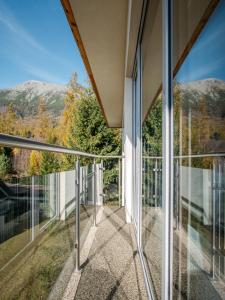 A balcony or terrace at TATRA SUITES Luxury Studio A302