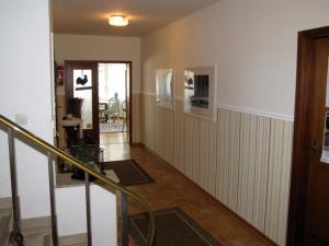 Lobby/Rezeption in der Unterkunft Strandhotel-Najade