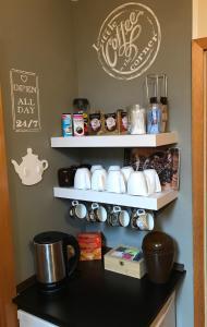 Kaffee-/Teezubehör in der Unterkunft Strandhotel-Najade