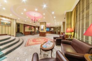 The lobby or reception area at Grand Yavuz Hotel Sultanahmet